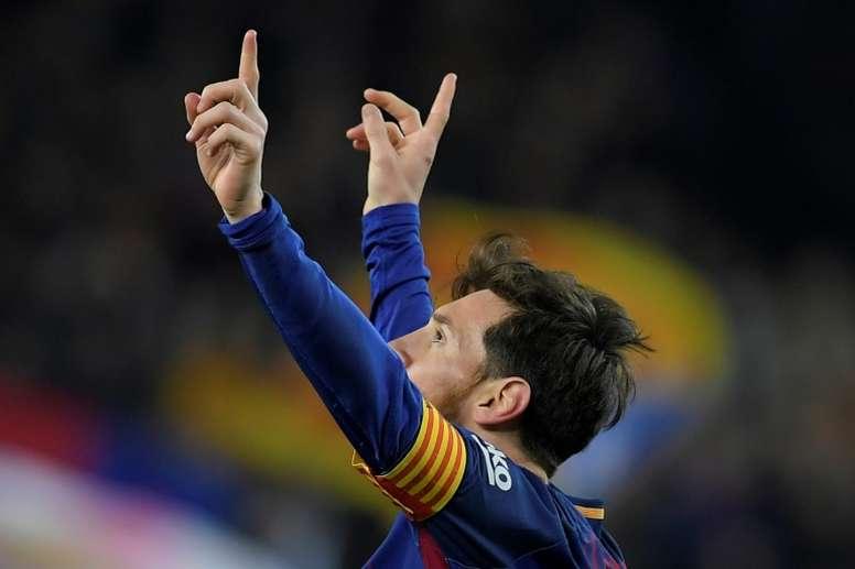Barcelona faz contas para o título. AFP