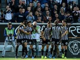 Les compos probables du match de Ligue 1 entre Angers et Brest. AFP