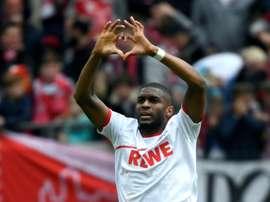 Il n'y a plus de joueurs positifs à Cologne. AFP