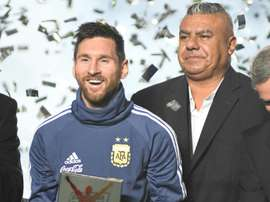 Le président de la Fédération argentine sanctionné. AFP