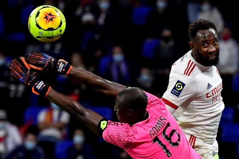 Moussa Dembélé será o novo reforço do Atlético de Madrid. AFP