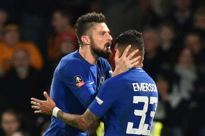 El Chelsea blindará a Emerson. AFP