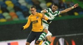 Bruno Fernandes dejó caer su salida de Portugual. AFP