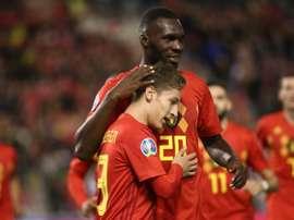 La Belgique dans un groupe abordable. AFP