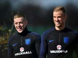 Pickford is likely to nab Hart's No 1 shirt. AFP