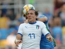 La Juventus voudrait faire confiance à Luca Pellegrini. AFP