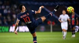 O PSG apoia Neymar. AFP