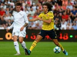 Leicester s'intéresse à un milieu de terrain français. AFP