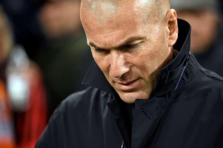 Zidane lamentó empate en Butarque. AFP