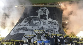 Discipline: Nantes sanctionné pour usage de fumigènes lors d'hommages à Sala. AFP