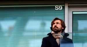 Pirlo évoque le transfert de Morata. AFP