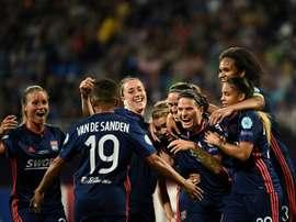 Lyon, triple vainqueur de suite de la compétition. AFP