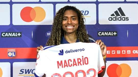 Espoir du football mondial, l'Américaine Macario veut faire sa place à Lyon. afp