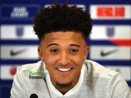 Sancho could make his full debut. AFP
