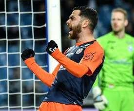 Montpellier se relance vers l'Europe. AFP