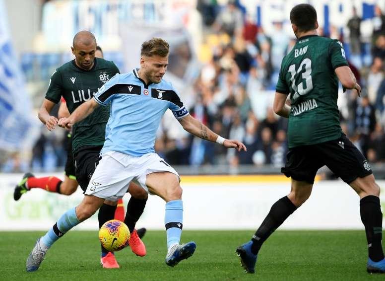 La Lazio prepara il rinnovo di Immobile. AFP