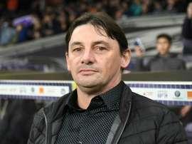 Le nouvel entraîneur commence bien avec Toulouse. AFP