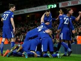 El Chelsea sufrió de lo lindo para eliminar al Norwich. AFP/Archivo
