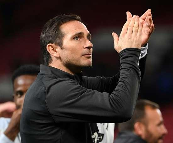 Lampard's men were valiant in defeat. AFP