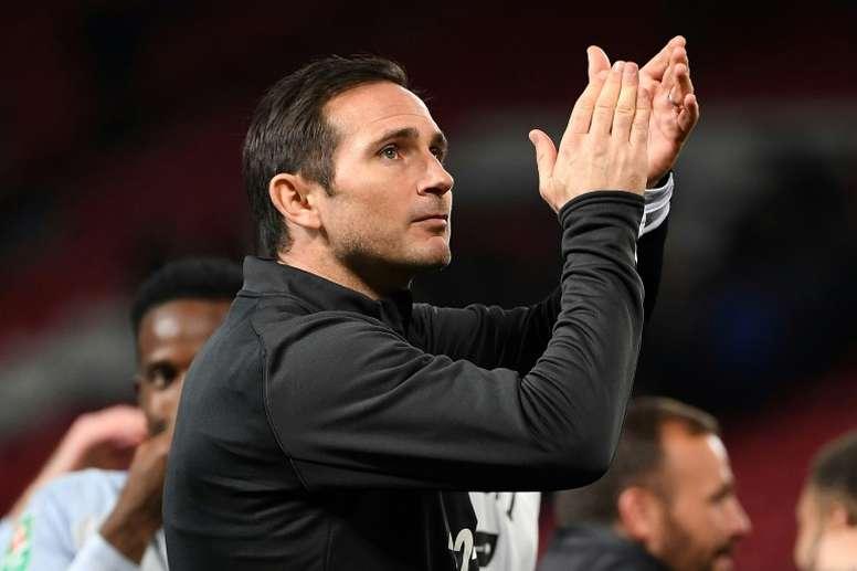 Dan por hecha la llegada de Lampard al Chelsea. AFP