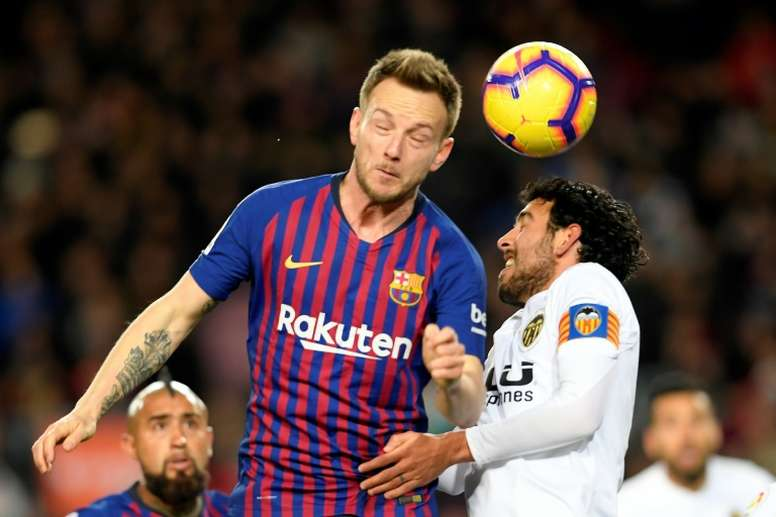 L'avenir de Rakitic est incertain. AFP