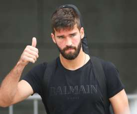 Perotti believes Alisson will be a big loss to Roma. AFP