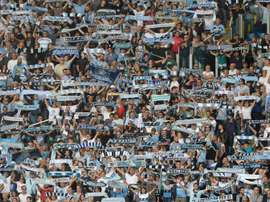 Lazio supporters reportedly clashed with Marseille supporters in France. AFP