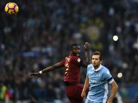 Roma defender Antonio Rudiger was the focus of Lazio supporters' racist chants
