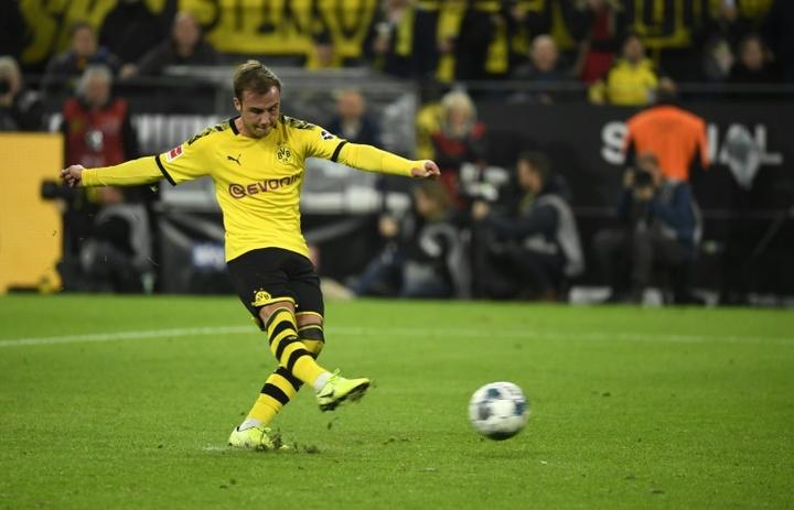 Götze a refusé Liverpool en 2016 pour retourner à Dortmund. AFP