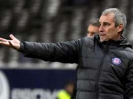 Denis Zanko, dépité après la défaite contre Lille. AFP