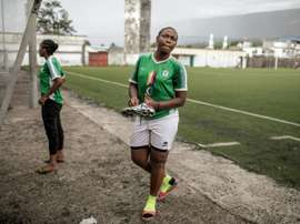 À la découverte des joueuses aux Comores. AFP