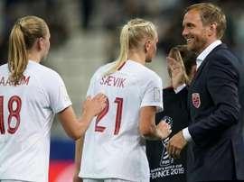 La Norvège a battu la Corée. AFP