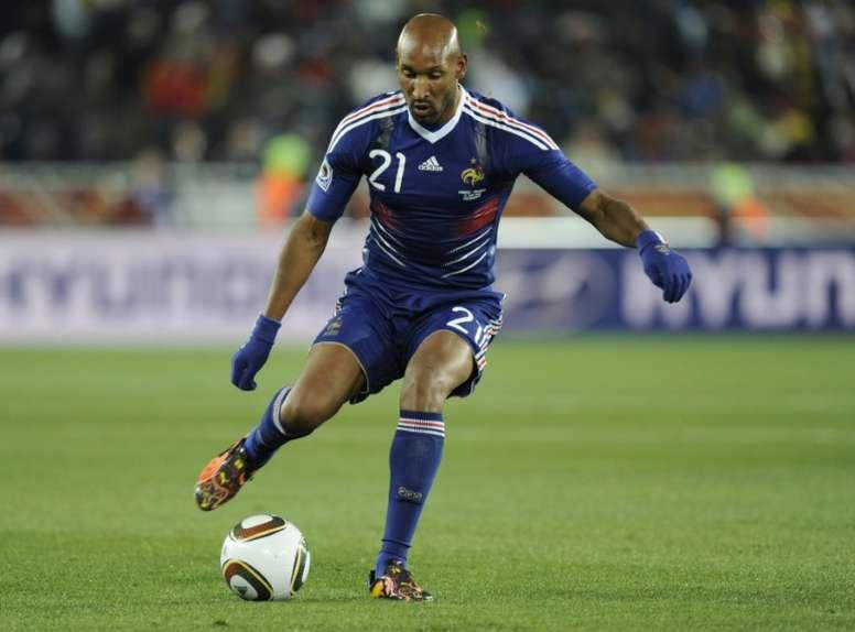 Anelka se sinceró sobre su etapa como jugador. AFP