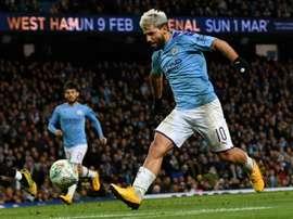 Independiente rêve du retour du Kun Agüero. AFP
