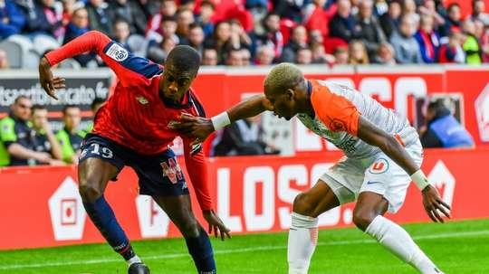 La grosse saison de Pépé ne laisse pas le Barça indifférent. AFP