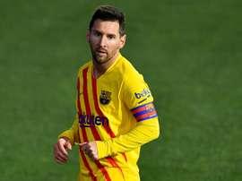 Mauricio Pochettino décrit Lionel Messi. afp