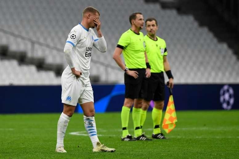 L'Olympique de Marseille se tourne vers l'Europa League. AFP