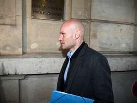 Quel sort pour Tony Chapron ? AFP
