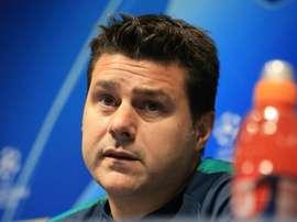 Pochettino considera-se orgulhoso do trajeto do Tottenham. AFP