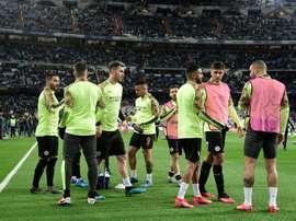 Guardiola démarre sans Agüero, D. Silva ni Sterling. AFP