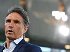 Bruno Labbadia nouvel entraîneur du Hertha Berlin. AFP