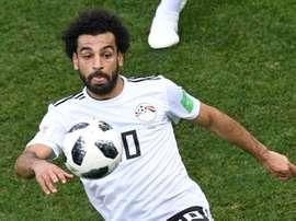Egipto palmó en el último minuto. AFP