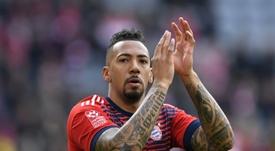 El Bayern tasa a Boateng, que está en venta. AFP
