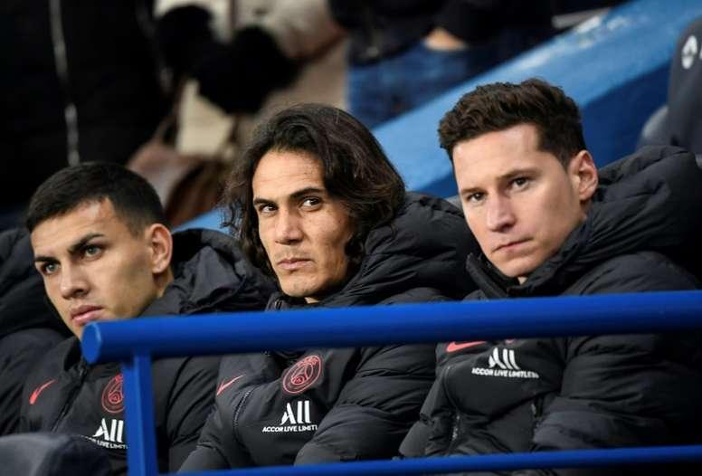 Les départs de Cavani et Thiago Silva, un soulagement financier pour le PSG. AFP