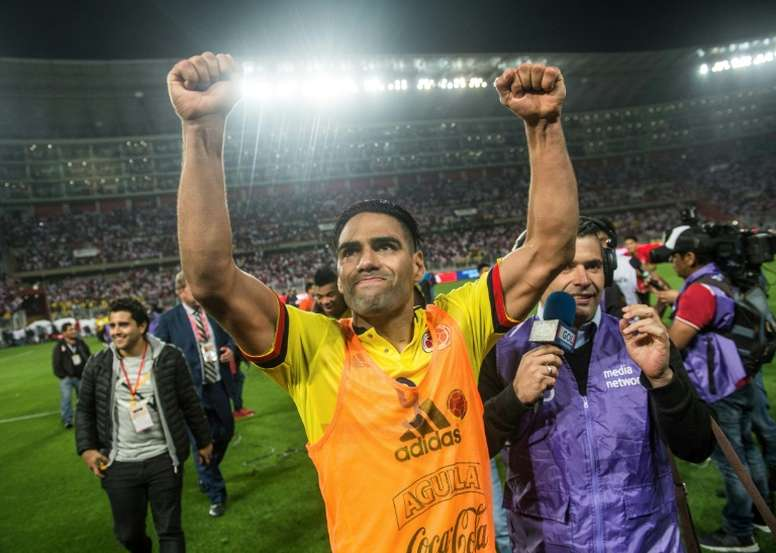Falcao has admitted telling Peru players to settle for a draw. AFP