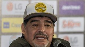 Maradona est hospitalisé. AFP