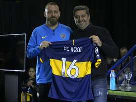 De Rossi est la nouvelle star de Boca. AFP