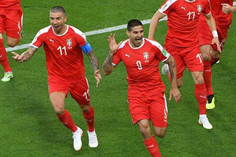 Suiza goleó, sin pasarse, a Gibraltar. AFP/Archivo
