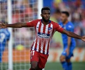 Lemar a brillé en Liga. AFP
