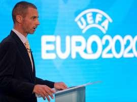 Selon Rummenigge, Ceferin réfléchit à un Euro dans un seul pays. afp